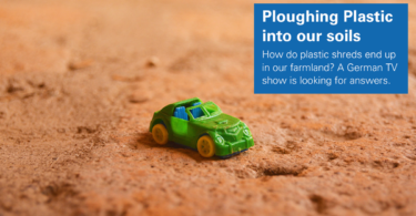 Plastic in soils