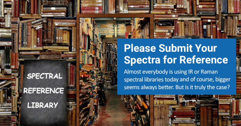 A messy, crowded library representing big and bulky spectral libraries.